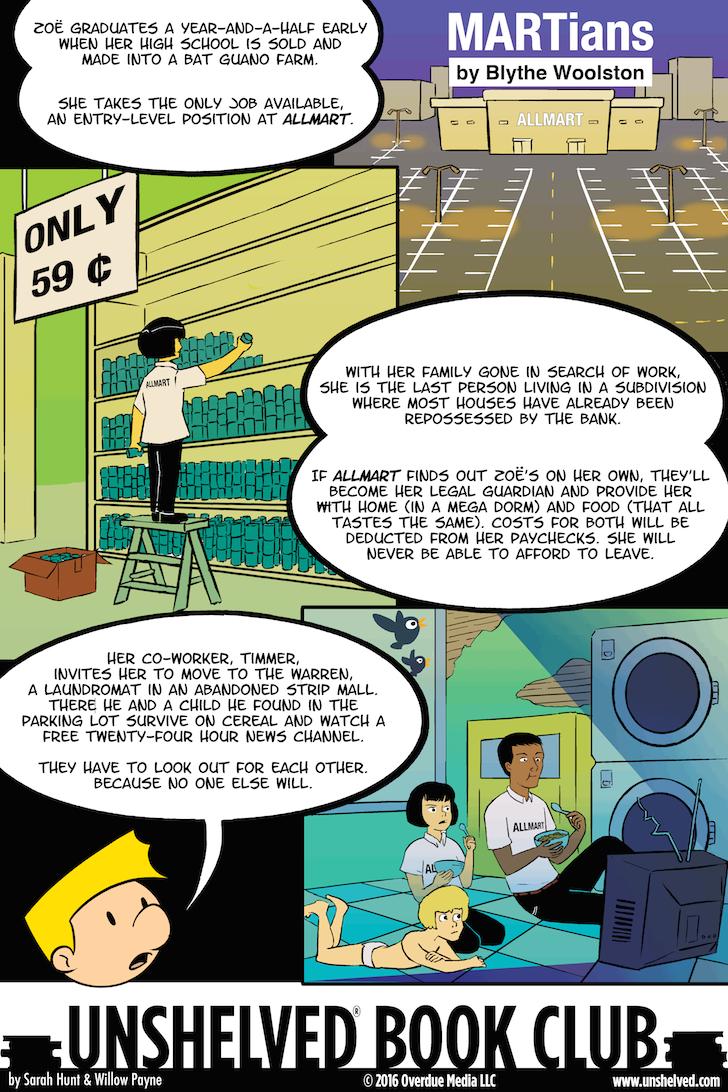 Unshelved comic strip for 7/8/2016