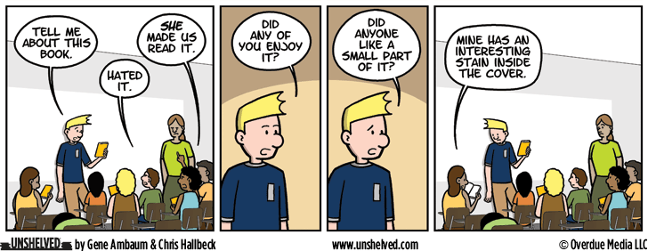 Unshelved comic strip for 7/28/2016