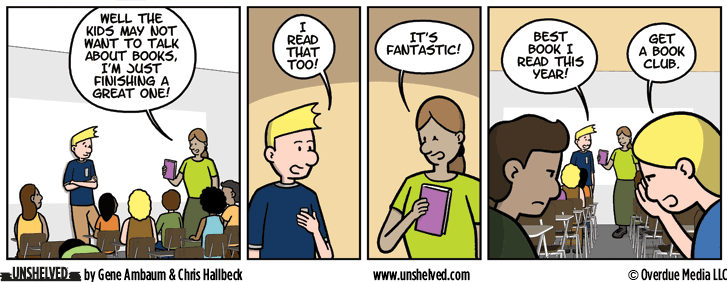 Unshelved comic strip for 8/1/2016