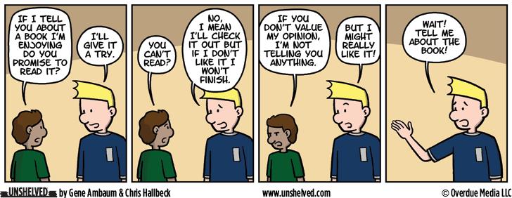 Unshelved comic strip for 8/2/2016