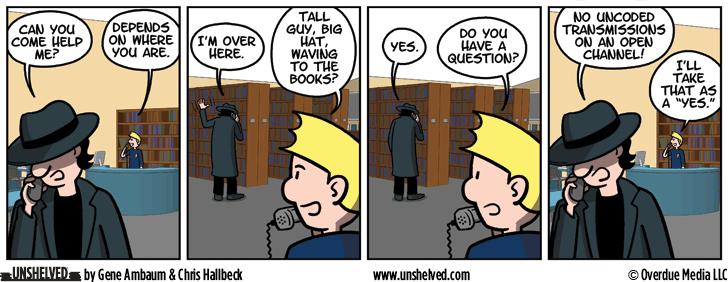Unshelved comic strip for 9/19/2016