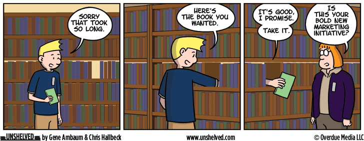 Unshelved comic strip for 9/21/2016