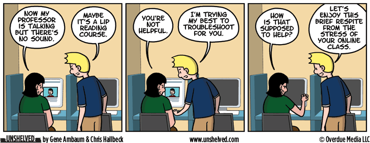 Unshelved comic strip for 9/29/2016