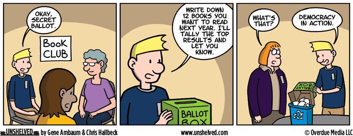 Unshelved comic strip for 11/3/2016